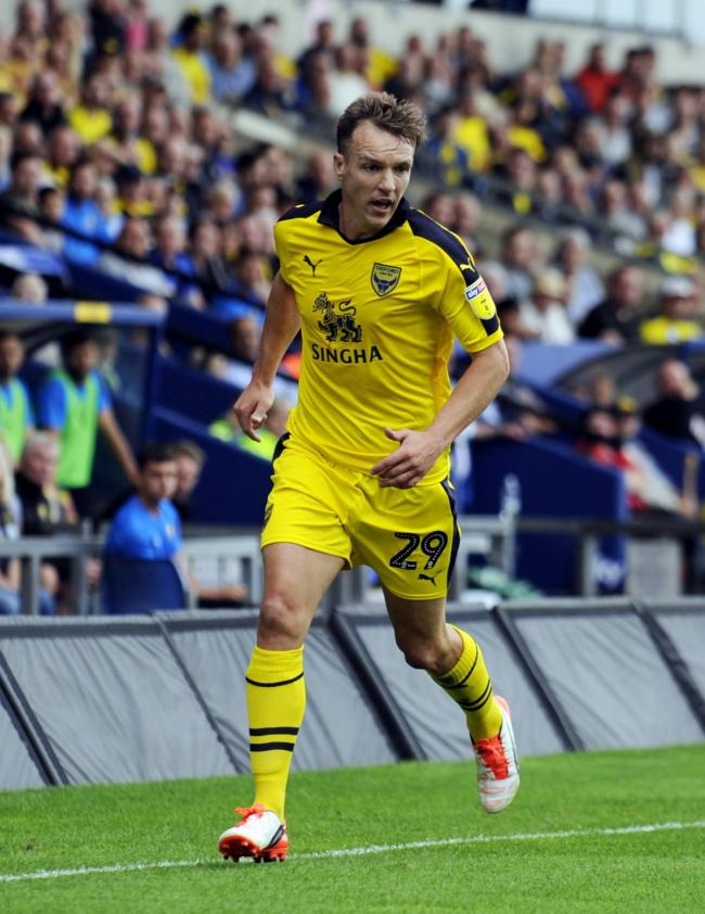 Tony McMahon played 13 games for Oxford United last season  Picture: David Fleming