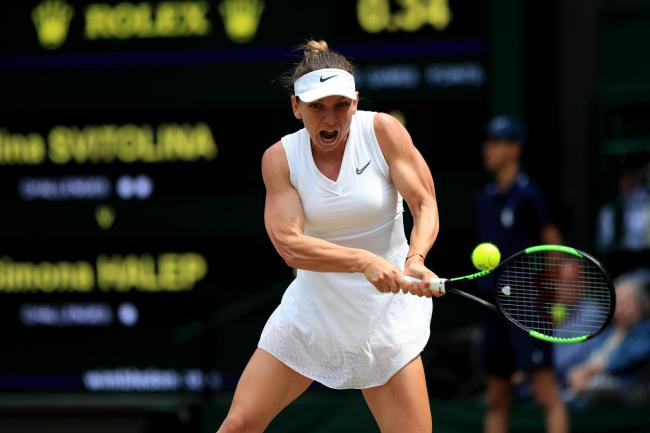 Simona Halep is into the Wimbledon final