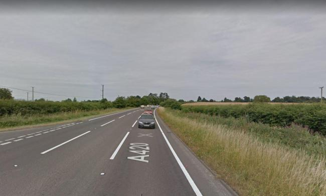 The A420 at Littleworth Picture: Google Maps