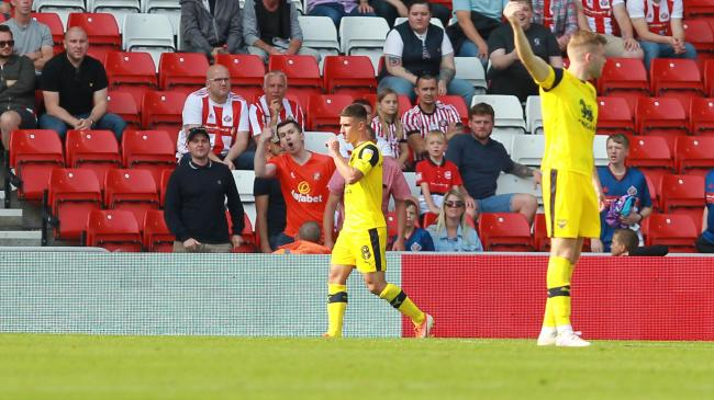 Cameron Brannagan walks off past the home fans at Sunderland last weekend  Picture: Richard Parkes