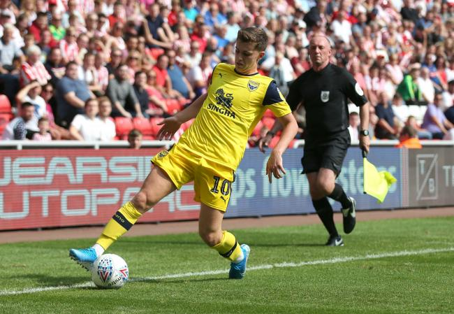 Ben Woodburn on the attack during his Oxford United debut at Sunderland on Saturday. It was only the Liverpool loanee's third career league start 	Picture: Richard Parkes