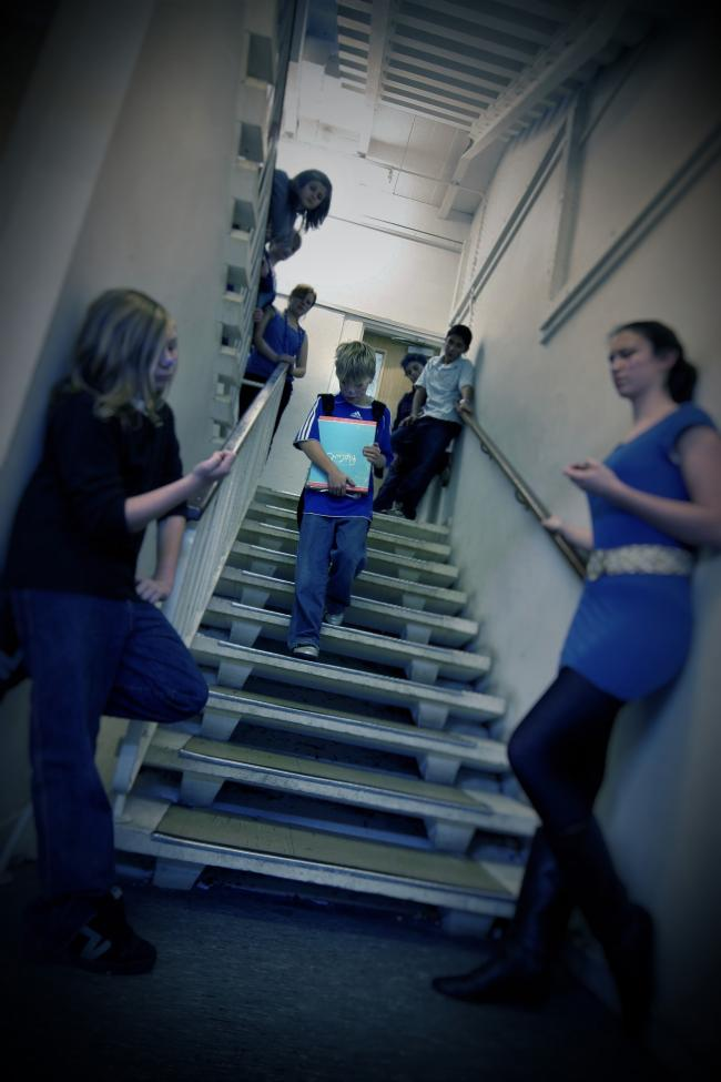 Pupils at an Oxfordshire school act out bullying scenarios (file image). Picture: Mark Bassett