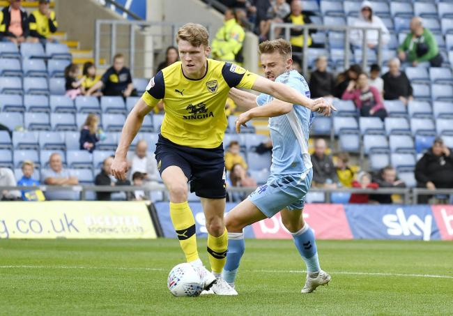 Rob Dickie played for Lincoln City on loan before joining Oxford United in January 2018     Picture: David Fleming