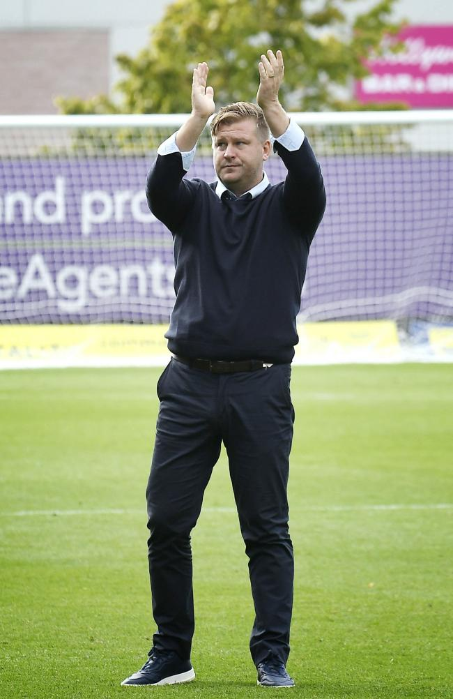 Oxford United boss Karl Robinson is optimistic league results will turn   Picture: David Fleming