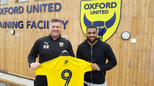 Jerome Sinclair was a deadline day signing for Oxford United boss Karl Robinson in January 2019