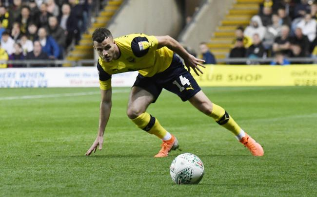 Anthony Forde is only expected to be sidelined at Oxford United for three weeks   Picture: David Fleming