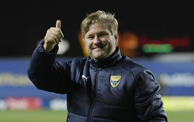 Oxford United boss Karl Robinson