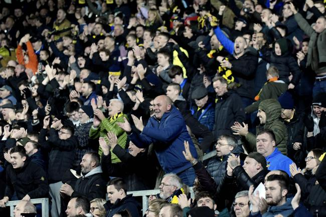 Oxford United fans at the Kassam Stadium last season   Picture: David Fleming