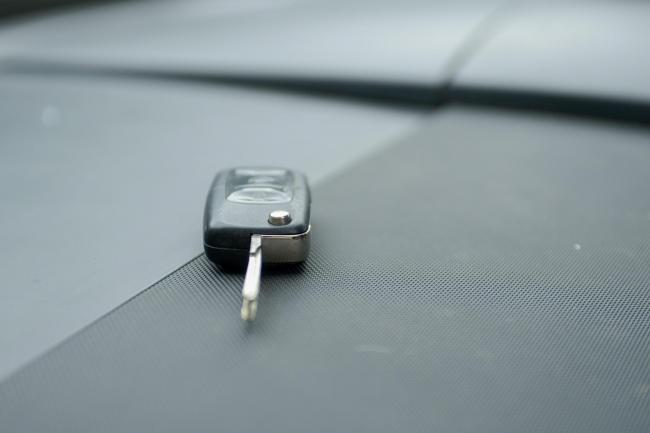 Car keys - pic from SWNS
