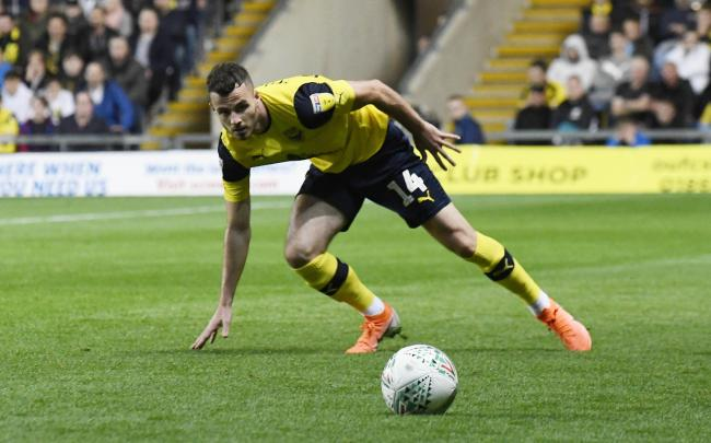 Anthony Forde is fully fit again for Oxford United after suffering a groin strain last month  Picture: David Fleming