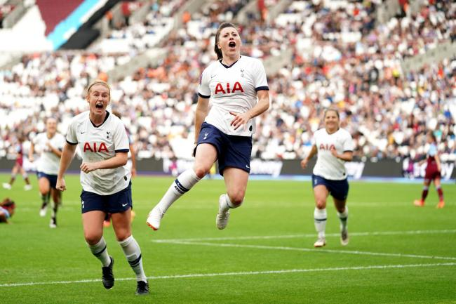 Spurs Women are set for a bumper crowd for their north London derby at the Tottenham Hotspur Stadium