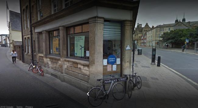 Citizens Advice in Oxford. Pic: Google Maps
