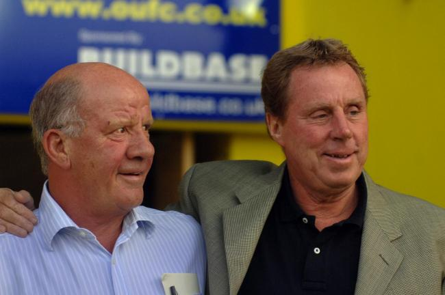 Jim Smith and Harry Redknapp at a pre-season friendly between Oxford United and Portsmouth in 2006 Picture: Jon Lewisy