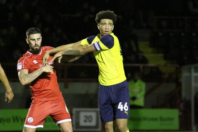 Nico Jones is among those set to play for Oxford United's u18s against Swindon Town Picture: Steve Daniels