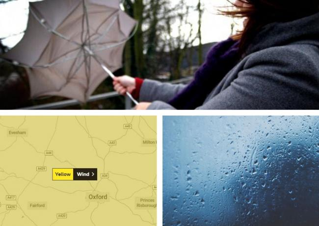 Heavy rain and 50mph winds as Storm Brendan hits Oxfordshire