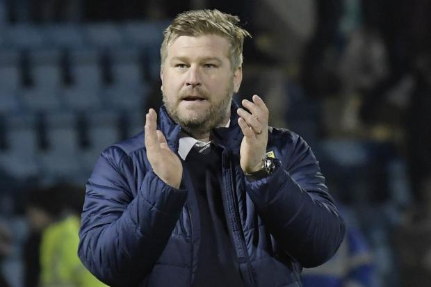 Oxford United boss Karl Robinson will keep his final message simple before kick-off    Picture: David Fleming