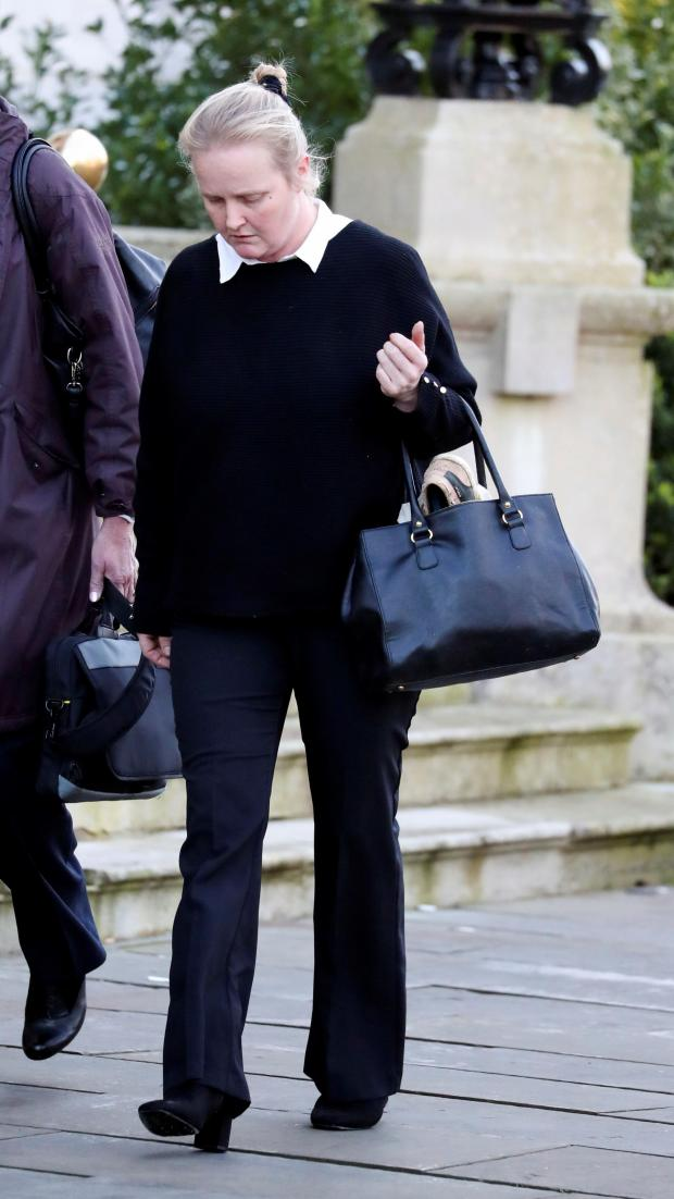 Banbury Cake: Denise Neal outside Reading Crown Court. Picture: Steve Parsons/PA