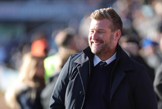 "Oxford United head coach Karl Robinson is eyeing ""five or six"" more deals             Picture: Richard Parkes"