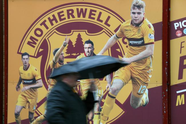 The wet weather had an impact at Motherwell