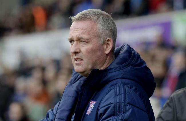 Ipswich Town boss Paul Lambert  Picture: David Fleming