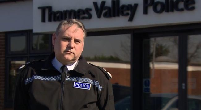 John Campbell, the chief constable of Thames Valley Police.