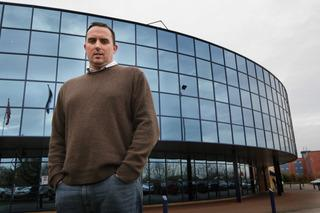 Oxford United chairman Kelvin Thomas at the Kassam Stadium