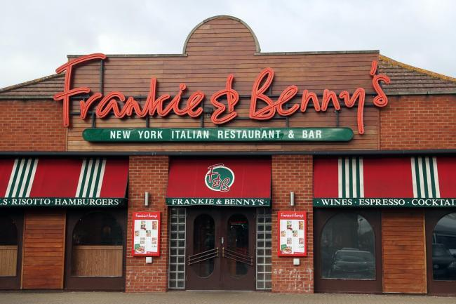 Frankie and Benny's reopening plans, safety rules and limited menu revealed