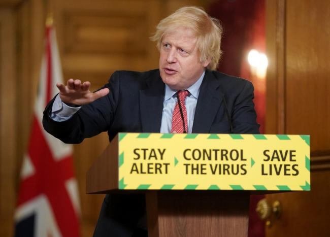 BORIS JOHNSON: 2m lockdown eased to 1m from July 4