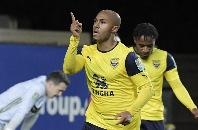 Rob Hall has scored six goals for Oxford United this season   Picture: David Fleming