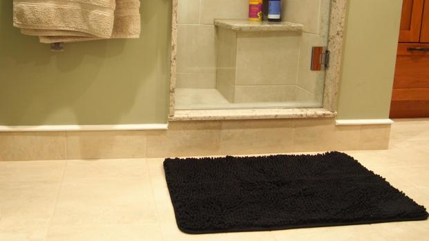 Banbury Cake: A stylish bath mat can brighten up your space. Credit: Reviewed / Kori Perten
