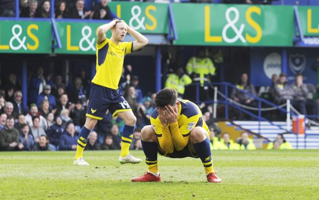 Penalty miss agony for Oxford United's Alex Mowatt in 2018 Picture: David Fleming