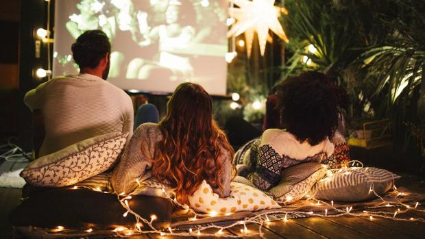 Banbury Cake: Sit back and relax with a projector and outdoor screen. Credit: Getty Images / M_A_Y_A