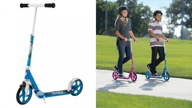 Banbury Cake: Get scootin' around your neighbourhood with this deluxe Razor. Credit: Razor