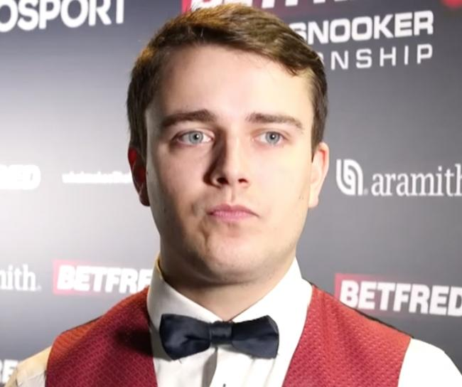 Ursenbacher was the first Swiss player to appear at the Crucible and can't wait to be back - in front of fans
