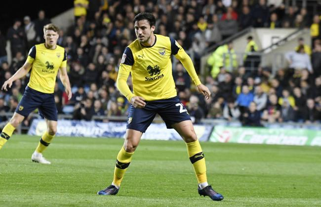 George Thorne made seven appearances for Oxford United   Picture: David Fleming