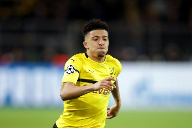 Borussia Dortmund's Jadon Sancho is Manchester United's primary summer transfer target