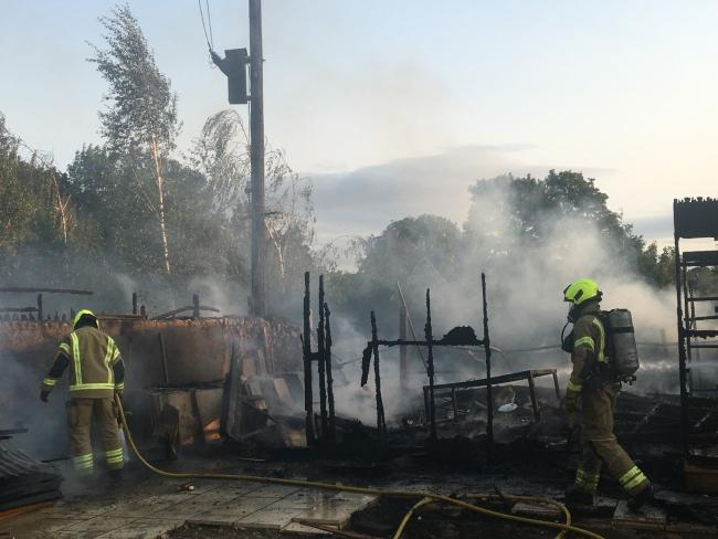 Woman in hospital after serious fire breaks out near Oxfordshire village