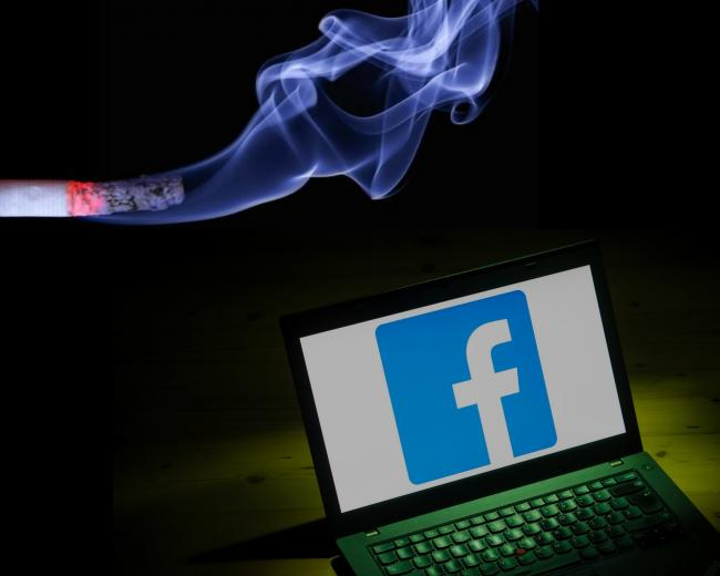 Oxfordshire County Council is using undercover investigative powers to target cigarette sellers on Facebook. Pictures: Pixabay; Dominic Lipinski/ PA Wire