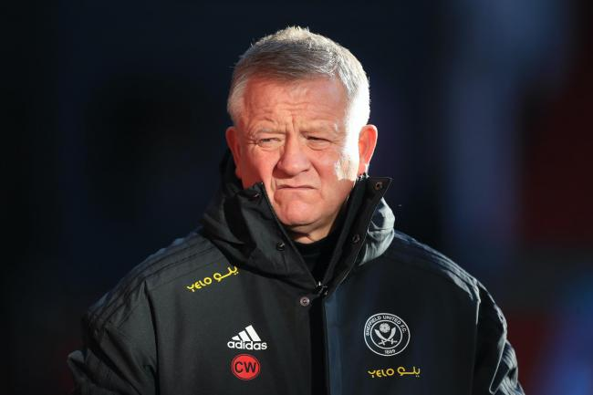 Chris Wilder's Sheffield United are struggling at the wrong end of the Premier League