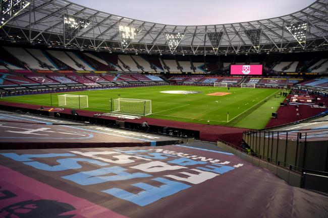 The London Stadium will be the first venue to welcome fans for a Premier League since March when West Ham take on Manchester United on December 5