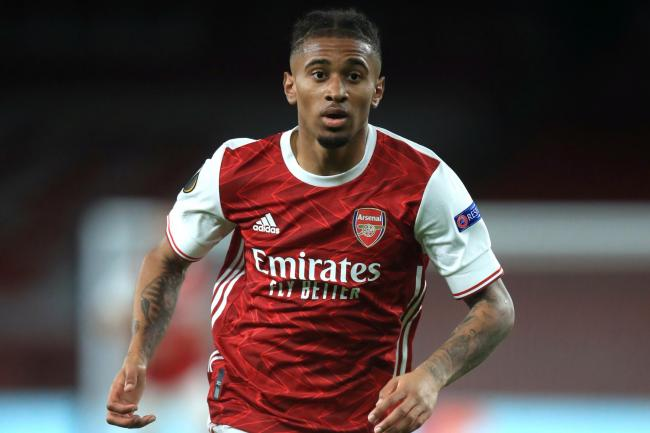 Reiss Nelson has played just 45 minutes of Premier League football this season.