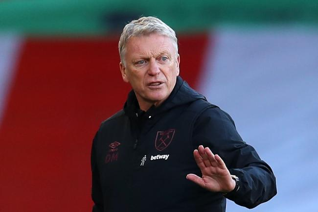 West Ham manager David Moyes is