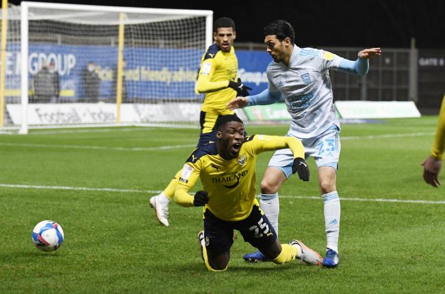 Oxford United face play-off rivals Ipswich Town tomorrow Picture: David Fleming