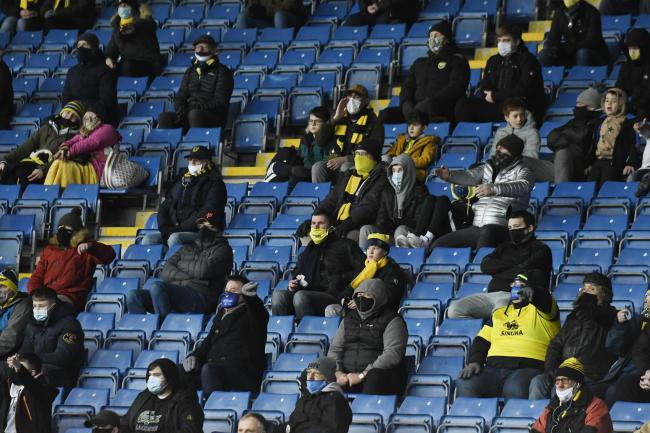Fans at the Kassam Stadium for the visit of Hull City on December 5 Picture: David Fleming