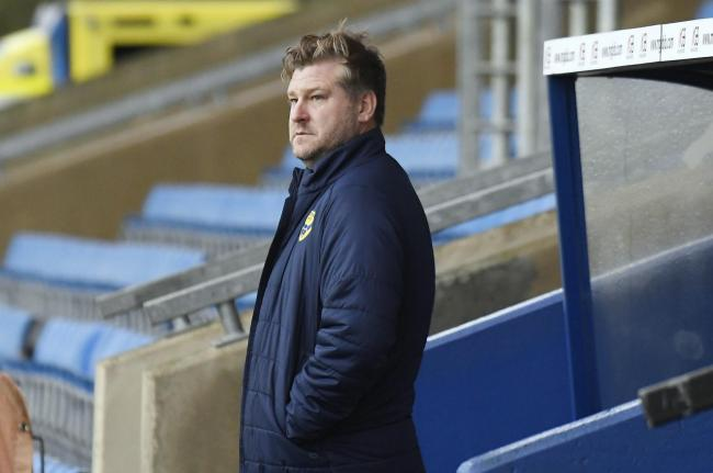 Karl Robinson says Oxford United will continue playing regardless of the results of today's coronavirus tests Picture: David Fleming