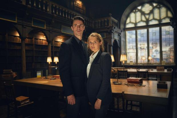 Banbury Cake: Matthew Goode and Teresa Palmer in A Discovery of Witches Picture: Sky One