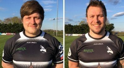 Kris Ford and Jack Snowden Picture: Chinnor RFC Thame