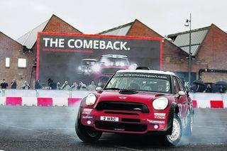 Mini rally car to make public UK debut in Oxfordshire