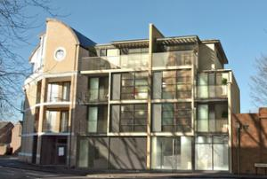 Banbury Cake: A one-bedroom apartment in this block near St Ebbes was let by Martin & Co earlier this year