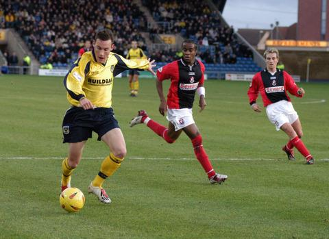 Dean Whitehead scored for Oxford against Bournemouth in 2002, the last time the sides met in a competitive match at the Kassam Stadium